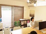 ウォーターサーバーなども設置された昨年11月完成のデザイナーズオフィスで、いつでも気持ちよくお仕事できます♪
