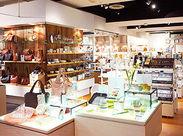"""Simple & Natural""がコンセプト♪インテリアや雑貨がスキなあなたは天職かも!?落ち着いたお店の雰囲気も人気です◎"