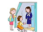 学生さんの制服採寸をお任せ♪子育て中の主婦・ブランクのある方活躍中◎\未経験OK/★5月までの【期間限定募集】★