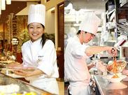 ★オープニングメンバー募集★ キッチン未経験でもOK!調理に慣れたらパスタ、ビーフシチューなども自分で作れるように♪*