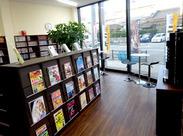 セルフでらくらく◎カンタン作業でスグに慣れます♪ お店の設備も要チェック★ ゆったりした、カフェスペースもあるお店です!