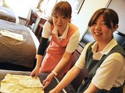 <10~50代スタッフ活躍中♪> 普段している家事が活かせます! ⇒お掃除のコツも身に付きます◎