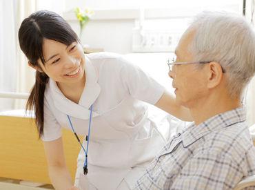 「自分から進んで話してくれるようになった」 患者さんの笑顔を見られることがやりがいに◎ ※画像はイメージ