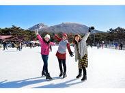 真っ白な景色!冬を満喫しながら働けます★ この冬は想い出に残るリゾートバイトで決まり!*:・