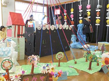 保育園でのお仕事が初めての方、大歓迎です! 「子どもが好き」という理由で始めた学生・主婦さんが大勢活躍中です♪