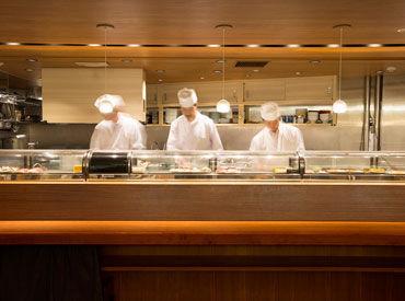 いま話題の《CIAL横浜》* 寿司職人として活躍するチャンス! 履歴書不要◎人柄重視です♪