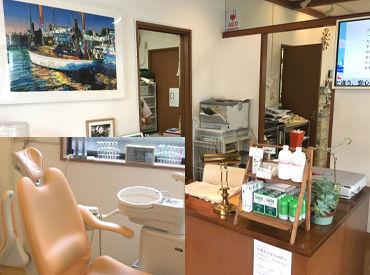 【歯科衛生士】゜*。ハワイアンの流れるキレイな歯科。*°スタッフは30~40代中心で明るい雰囲気◎歯科衛生士に復帰したい方、大歓迎♪