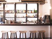 忙しい毎日をカフェにいる間は忘れることができる…そんなお店です◎当店オリジナルのフードメニューも作れるようになりますよ♪