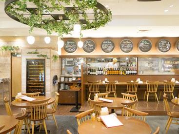 【ホール】++◆ワインセラーがモチーフのオシャレな店内◆++未経験でも時給1100円スタート!≪週1~&1日4h~≫自分のペースでOK♪
