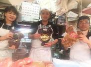 美味しいお肉を販売するお仕事!未経験スタートの方も大歓迎◎元気よく挨拶できる方なら大丈夫です!