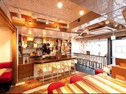≪店内はまるでオシャレなカフェ≫ 常連さんも多く、接客もしやすいですよ☆