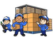 深夜帯の倉庫内作業をお任せ♪ 扱う部品は軽い物ばかりなので体の負担も心配ナシ☆