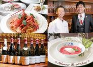 500種類以上のワインが並ぶお店♪ 料理とワインのマッチングを楽しむ【ペアリング】が注目されています◎