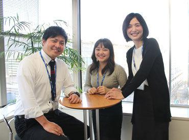 ~勤務地は品川駅スグ~ アクセス便利な立地で通勤ラクラク★ 綺麗なオフィスで快適に働けますよ♪