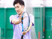 ≪日本最大級のテニスセンターです!≫ 屋内コートがメインなので環境もバツグン!!