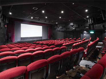 当映画館は1スクリーンのみ★ 上映されるのは日本映画だけ! 舞台挨拶なども開催されるので映画好きの方にはピッタリ◎
