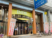 肴町商店街内にあるパチンコ店です。 周辺にたくさんお店があるので、出勤前後には買い物もできちゃいます♪