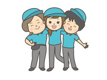 <未経験者さん歓迎>子育てや就業ブランク明けの方も活躍中!様々な年齢層の方が働かれています!!
