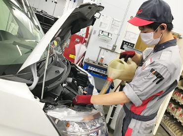 未経験スタートのスタッフも多数活躍中♪ «自動車整備資格»も活かせます◎