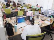 《大手グループで安心♪》 スタッフの80%が事務職未経験からのスタート★簡単なお仕事なのでご安心下さい!