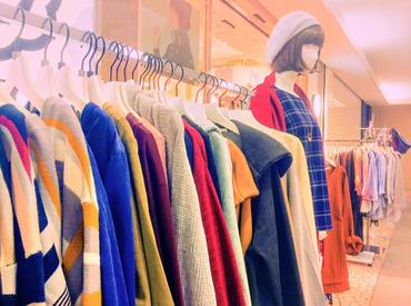 「手の届く贅沢」として女性の心を捉えて離さない♪有名ファッションブランドで働けるチャンス!※画像はイメージ