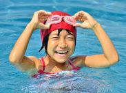 ≪夏を大満喫できるバイトです♪≫ 子どもたちの楽しそうな笑い声に元気をもらえます☆ (※写真はイメージです。)