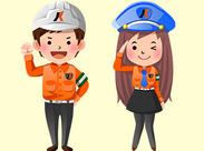 50代×新人!当社では当たり前の事。 稼げる列車見張の仕事や施設内警備等仕事のバリエーションは豊富にございます!