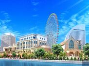 横浜のみなとみらいにある日本最大級のウエディング会場☆高時給&高待遇で、大人気のお仕事♪早めにご応募くださいね!