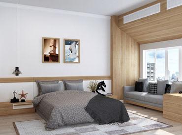 とっても綺麗な サービス付きマンションです! お部屋内の清掃をお任せします★・*⌒☆* ※画像はイメージです。