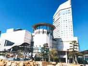 高松駅・高松築港駅すぐ!JRホテルクレメント高松でのお仕事です★ 丁寧にお教えしますので、安心してご応募くださいね◎