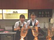 まったりした雰囲気のカフェで仲良く働いています◎女性スタッフ活躍中♪友達との応募もOKです!!