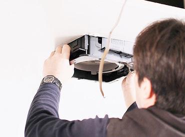 働きながら、国家資格である「第二種電気工事士」の資格取得も可能です★ 必要な道具や車なども用意するので、負担はナシ♪
