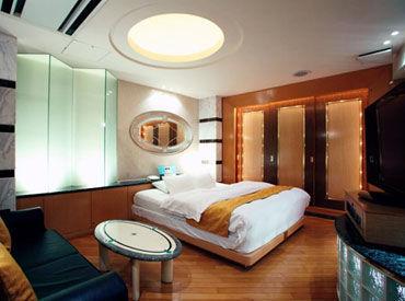 きれいなレジャーホテルでのお仕事◆内装もオシャレなので、気持ちよく働けます♪