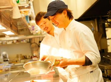 【ビストロ】★スキルを身に付けて、楽しく働く!★絶品ワインやイチから丁寧に仕込んだステーキ♪こだわりのイタリア料理を楽しめる◎