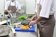 """定着率""""◎""""の働きやすい環境です♪ココが初めての調理のお仕事の方がほとんどで始めやすい環境です!! ※写真はイメージ"""