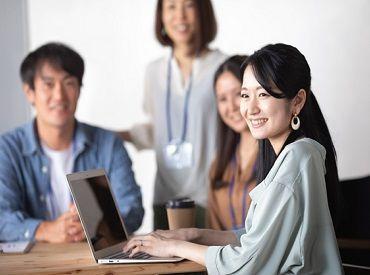 オフィス内のコロナ対策もバッチリ! 安心して働ける環境です◎ ※画像はイメージです