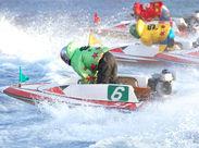 ◆ボートレースを屋内で  楽しめる公営施設です! でも知識は不要です★ CMで話題のボートレースに 詳しくなれちゃうかも!?