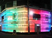 《レジャーホテル》新宿のホテル街を彩るライトアップされた外観。あなたの一声、お待ちしてます!