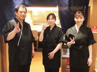 阪急グランドビル 28Fにあるお店♪ 眺めも、雰囲気も文句なしのお寿司屋さんです!