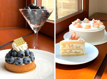 """調理スキル""""ゼロ""""からこんなスイーツも作れちゃいます◎ 素材の美味しさを活かし、旬の素材を使ったケーキを提供しています♪"""