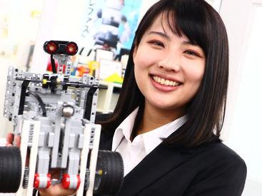 子どもたちが≪創る≫を楽しく学ぶ ロボット製作の体験型の学習塾!! 未経験でも丁寧にサポート◎ 週2日~柔軟に勤務可能です♪