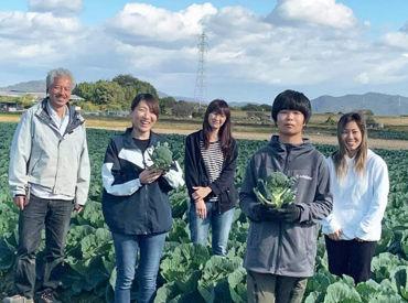 """目指すのは""""野菜栽培のスぺシャリスト""""!オーダーメイド栽培などにも取り組み、こだわりと愛情たっぷりに野菜を育てています♪"""