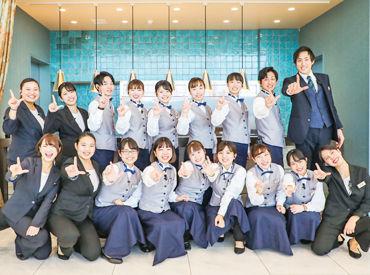 関西12校以上の大学生が活躍中! 「接客がしたい」「楽しく働きたい」等 応募のきっかけは何でもOK! オンライン面接も実施中◎