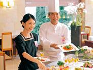 京都ホテルオークラ内にあるオシャレなカフェ・レストランで働こう♪