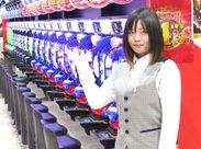松本市唯一の老舗スロット専門店♪男女ともに活躍できる環境が整っています。20~30代活躍中☆彡
