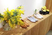ベーシックなお洒落な靴がたくさん!!新作ブーツやパンプス、ミュールなど…「これほしい★」そう思ったら社割で即購入できます♪
