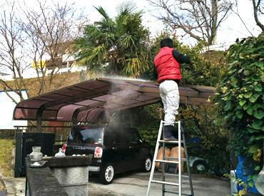 【現場作業員】≪レアバイト≫屋根の補修作業や清掃◎未経験の方も大歓迎★まずは1日体験もOK♪高日給1万1000円~♪さらに昇給あり&週払い!