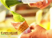 """オススメを紹介したり、新商品の試食を勧めたり… """"CAMPO SOLARE(カンポ ソラレ)""""の美味しさを届けましょう♪"""
