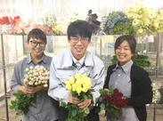 「人生の門出に…」「両親に感謝を込めて…」たくさんの幸せな思いが詰まった花束を作りましょう♪