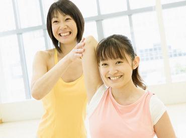 【スポーツクラブSTAFF】≫子ども向けスポーツクラブ内でのお仕事♪体を動かす・子どもとふれ合うことが好きな方に◎楽しい楽しいお仕事が到着です★